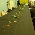 Préparation de la table