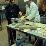 Préparation des tagliatelles