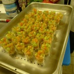 tartare tomate concombre