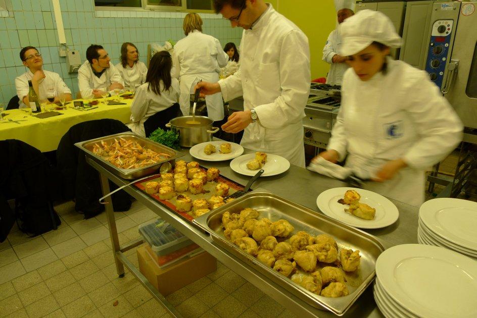 Parcours cuisine blog archive poulet aux langoustines - Dressage des plats en cuisine ...