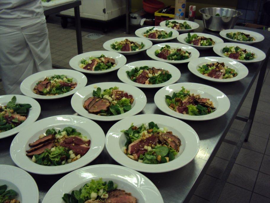 Parcours cuisine blog archive salade de magret de canard - Degraisser en cuisine ...