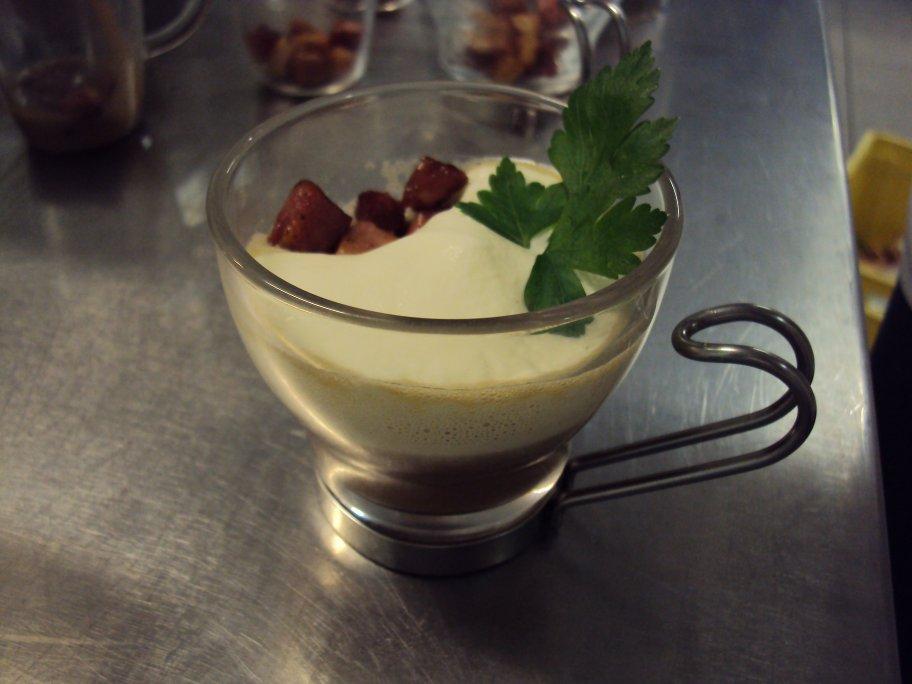 Parcours cuisine blog archive cappuccino de chataignes - Faire une emulsion en cuisine ...