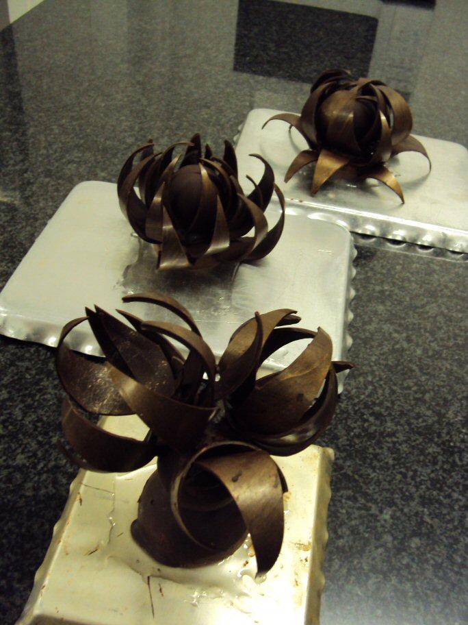 parcours cuisine blog archive sculpture en chocolat. Black Bedroom Furniture Sets. Home Design Ideas